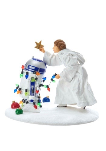 "5"" Princess Leia & R2D2 Christmas Table-piece"