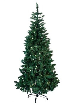6' Pre-Lit LED Green Pine Tree