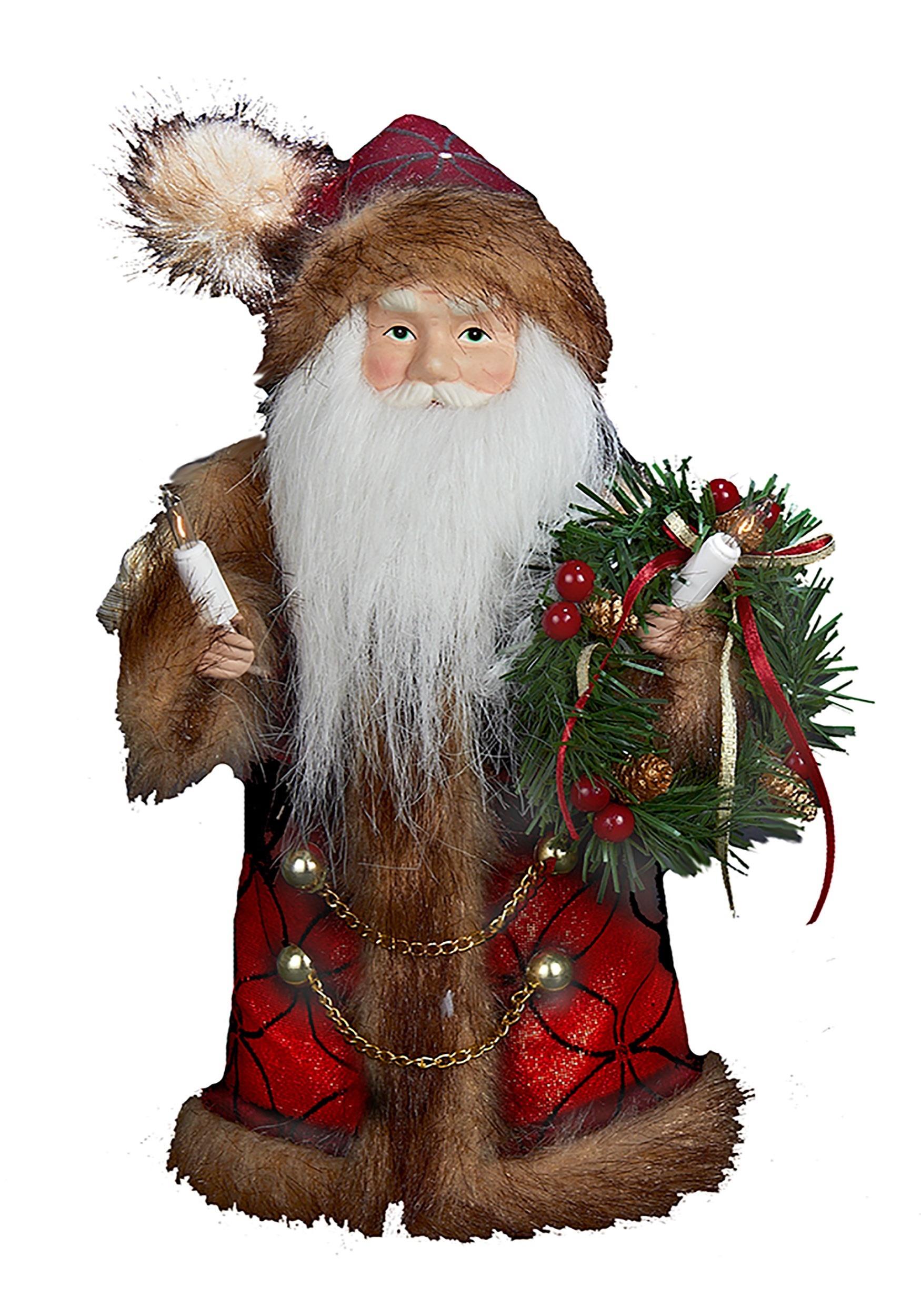 10 santa tree topper