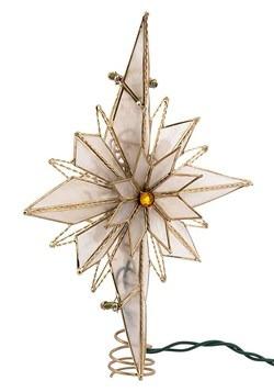 """10.5"""" Capiz Bethlehem Star Treetopper upd"""