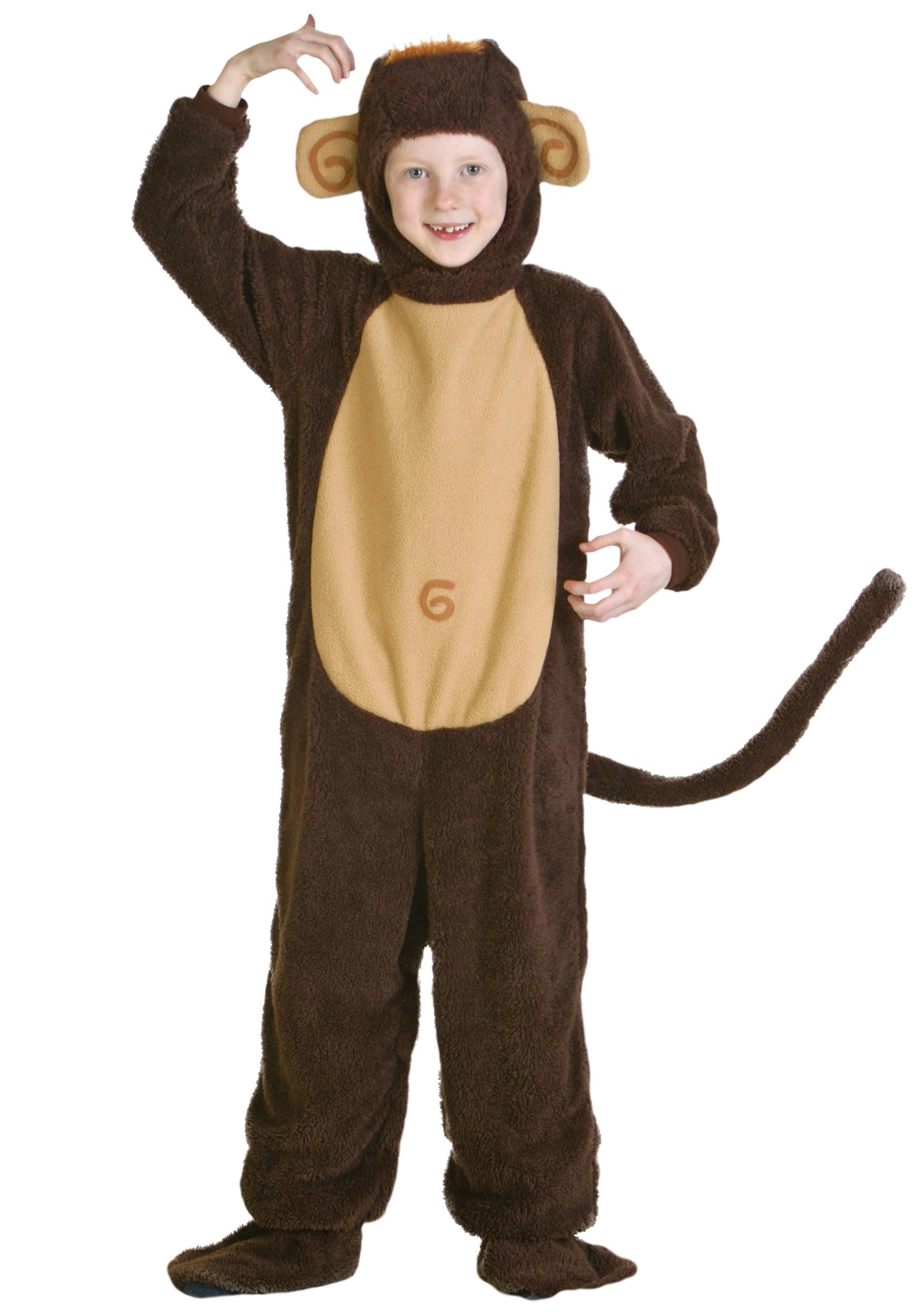 Monkey Halloween Costume Funny Apparel Kids Hoodie