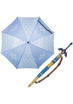 Tri Force Zelda  Sword Umbrella