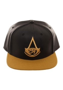 Assassins Creed Origins Chrome Weld Logo Snapback