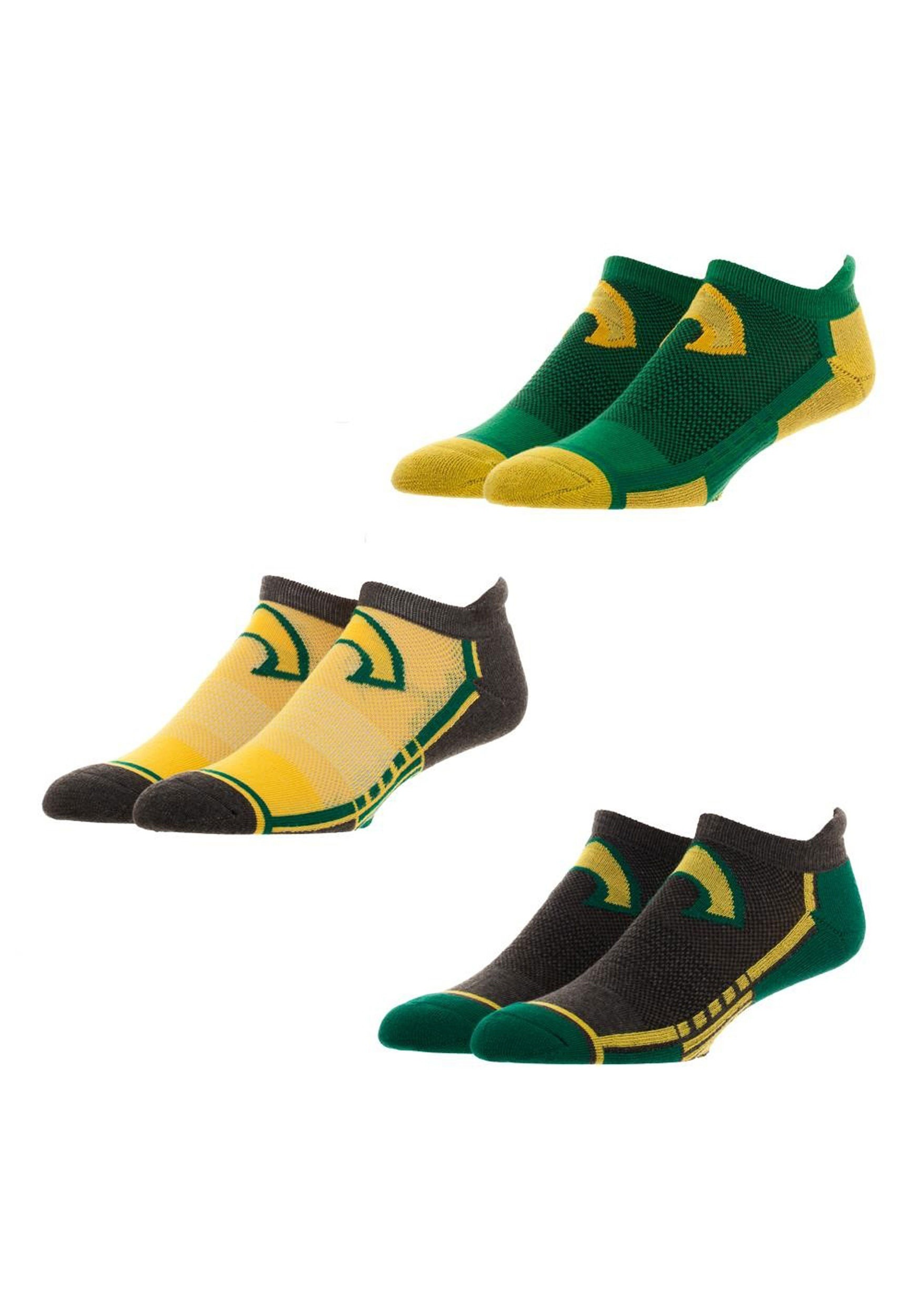 Aquaman 3 pair mens active ankle socks