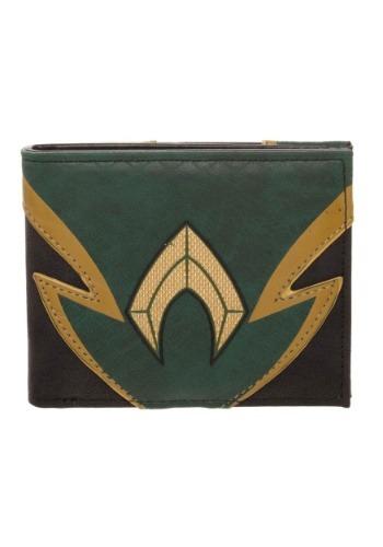 Aquaman Chrome Weld Patch Bi Fold Wallet