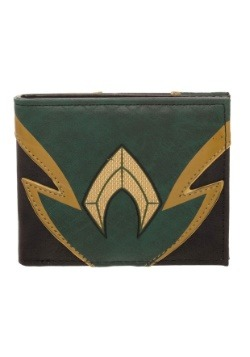 Aquaman Chrome Weld Patch Bi Fold Wallet
