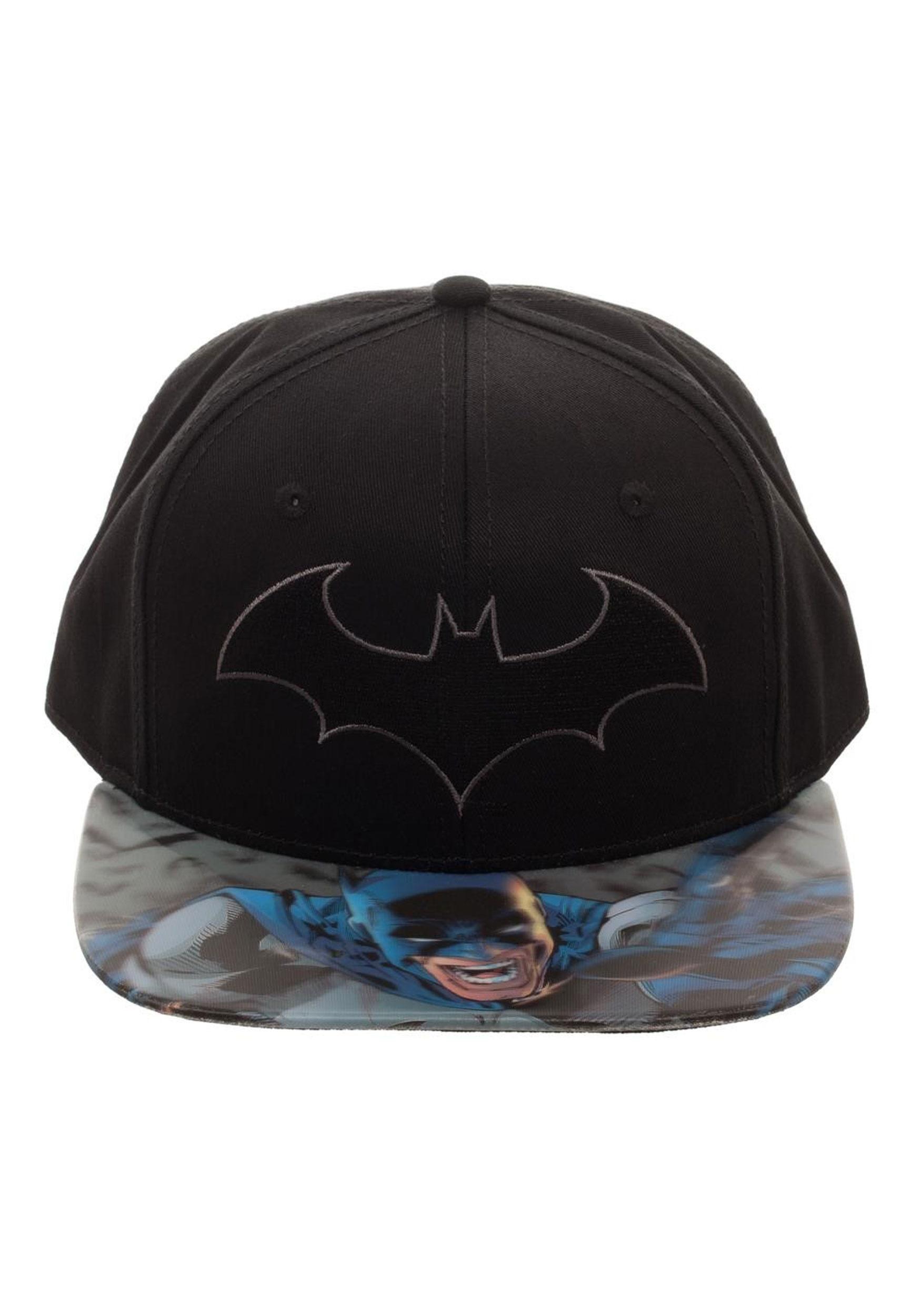 dc0db0c7cf9 Batman Lenticular Bill Snapback Hat