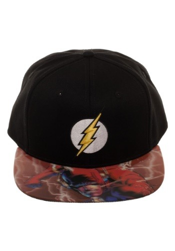 The Flash Lenticular Bill Snapback Hat
