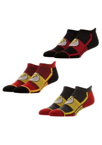 Flash 3 Pair Active Mens Ankle Socks