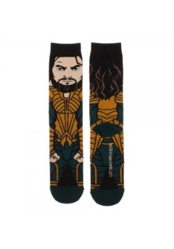 Aquaman DC Comics Justice League 360 Character Crew Socks