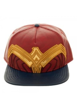 Wonder Woman Suit Up Applique Snapback