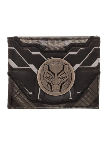 Black Panther Black Bi-Fold Wallet