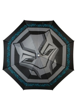 Black Panther Logo LED Umbrella