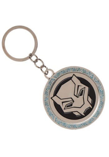 Metal Keychain Black Panther Movie Logo