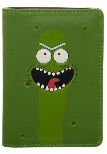 Rick and Morty Pickle Rick Vertical Bi-Fold Wallet