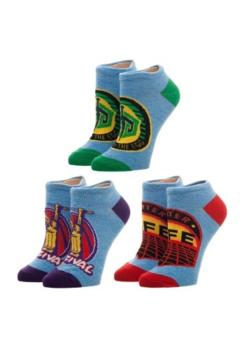 Ready Player One 3 Pack Ankle Sock Set