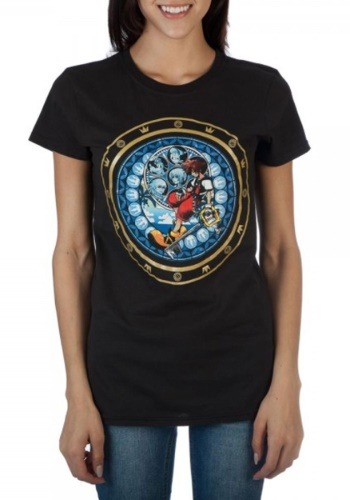 Kingdom Hearts Logo Tee for Women