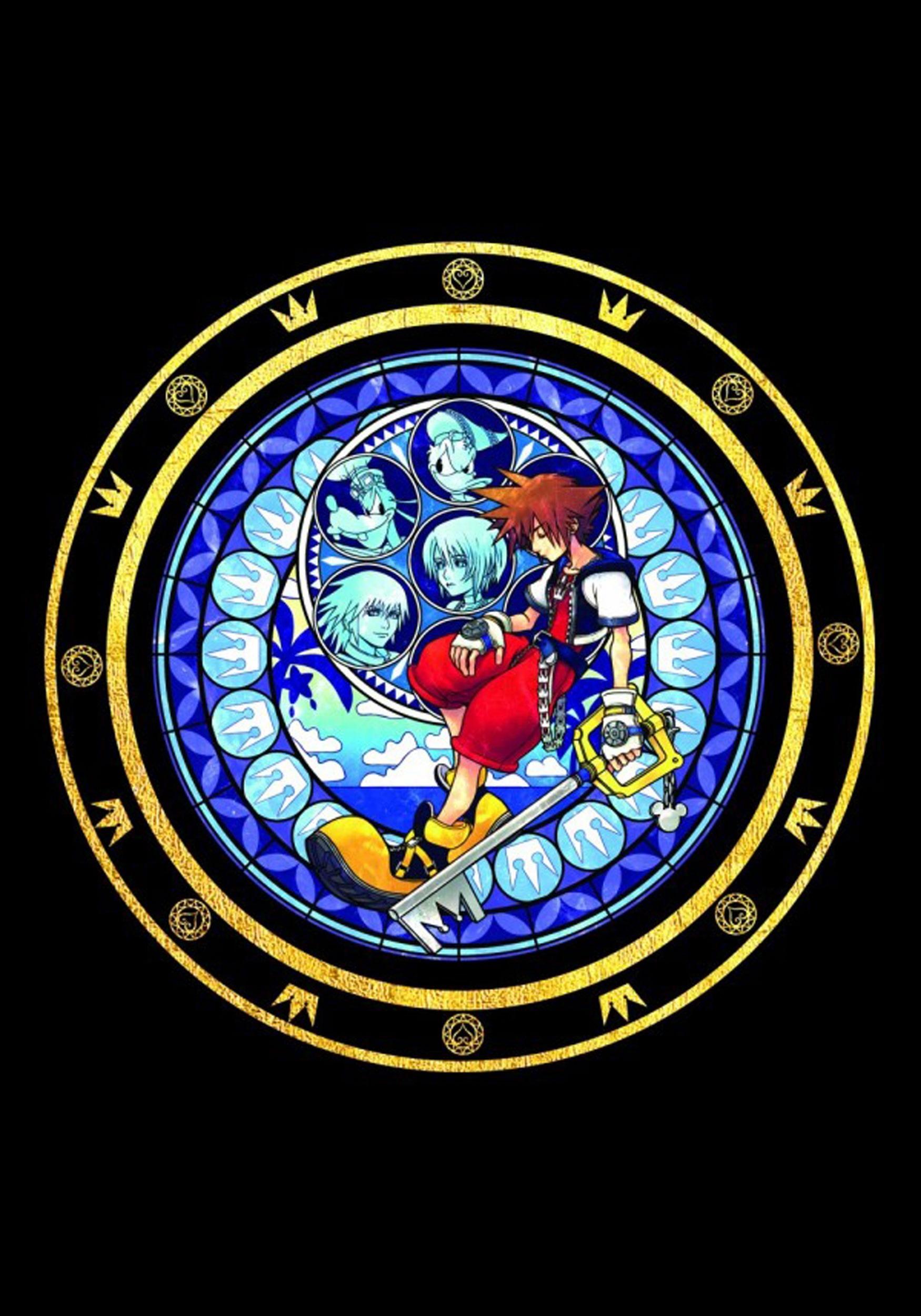 Kingdom Hearts Logo Juniors Tee