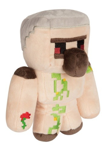 Minecraft Happy Explorer Iron Golem 8 inch Plush