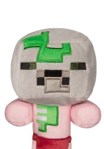 Minecraft Happy Explorer Baby Zombie Pigman 8 inch Plush