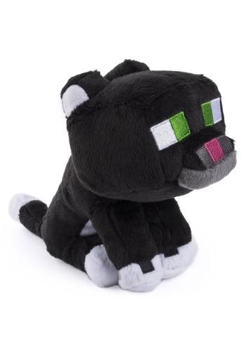 "7"" Minecraft Tuxedo Cat Plush Plush"