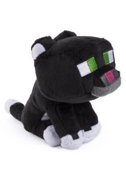 7 Minecraft Tuxedo Cat Plush Stuffed Animal