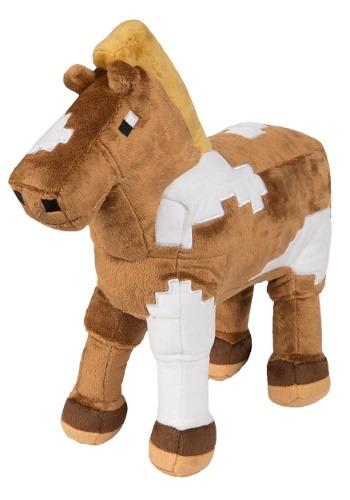 Horse Minecraft Plush
