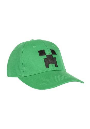 Snap-back Minecraft Creeper Hat