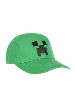 Snap-back Minecraft Creeper Hat Update1