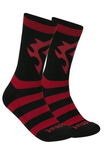 World of Warcraft Horde Adult Knit Socks