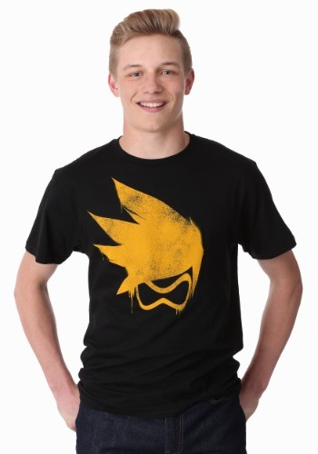 Men's Overwatch Tracer Spray T-Shirt-update1