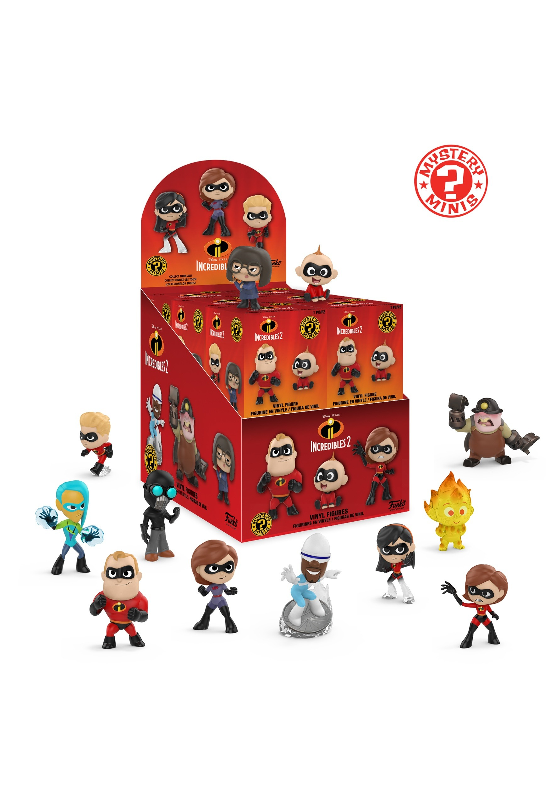 Mystery Minis Figures from Disney's Incredibles 2 Incredibles Costume
