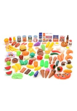 Pretend Food Deluxe 120 Piece Set