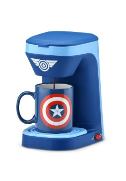 Captain America Single Brew Coffee Maker1