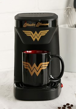 Wonder Woman Single Brew Coffee Maker1