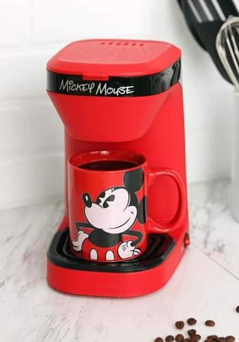 Mickey Mouse Single Brew Coffee Maker-update