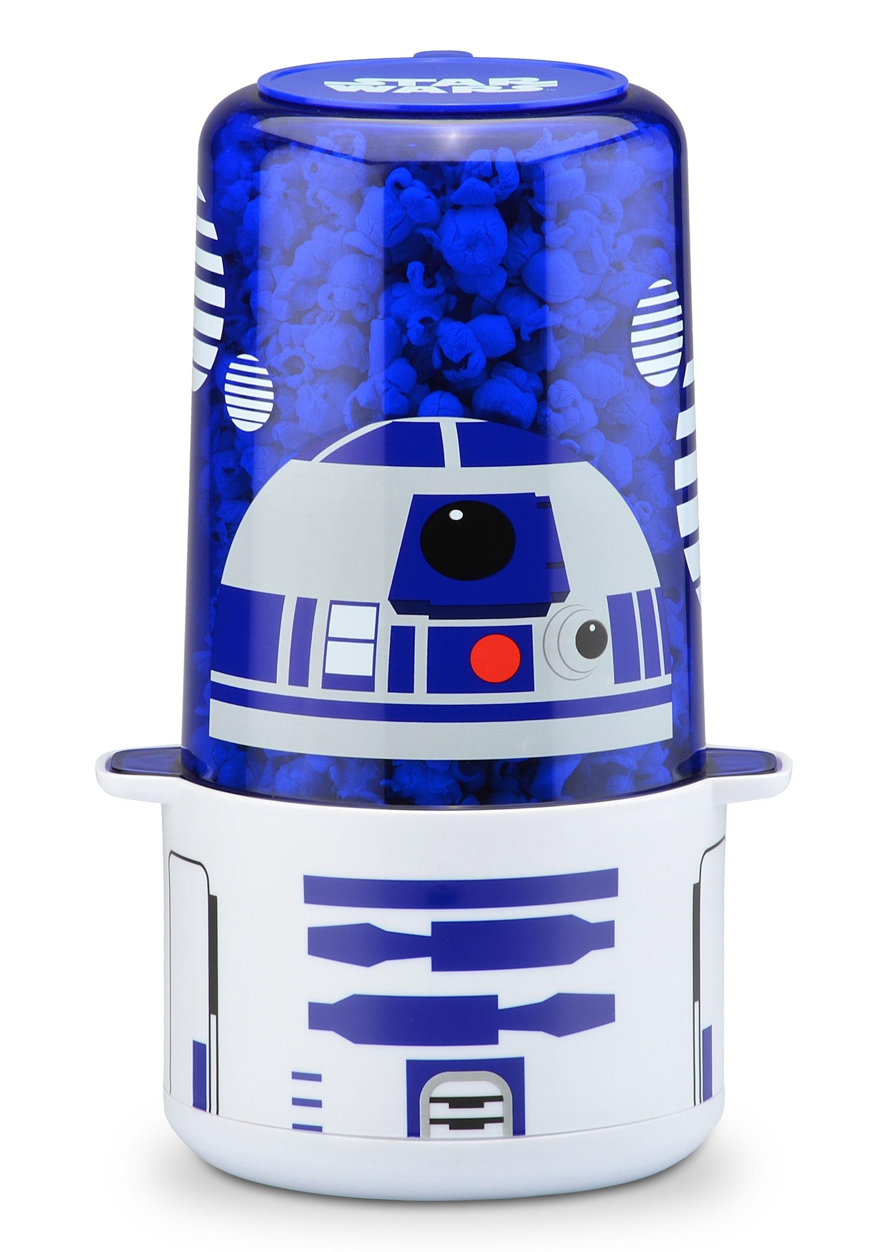 R2D2 Star Wars Mini Stir Popcorn Popper R D Home Planetarium Projector on home observatory, home star projectors, planetary projector, astronomy projector,