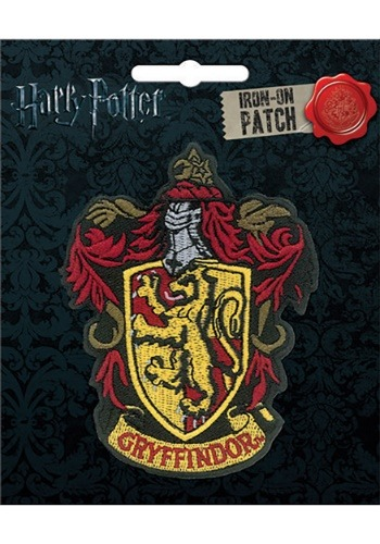 Harry Potter Gryffindoor Iron-On Patch