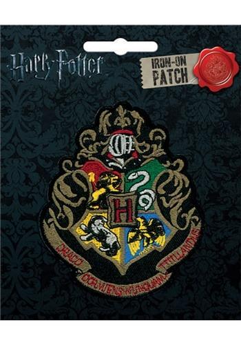 Harry Potter Hogwarts Crest Iron-On Patch