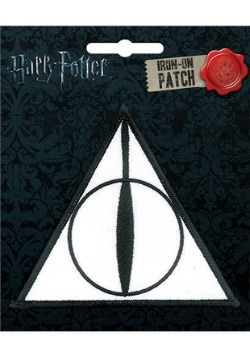 Deathly Hallows Harry Potter Iron-On Patch