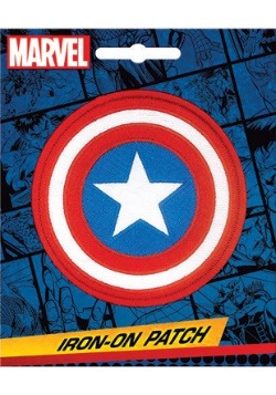 Captain America Marvel Iron On Patch