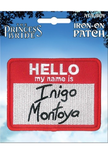The Princess Bride Inigo Montoya Iron-On Patch