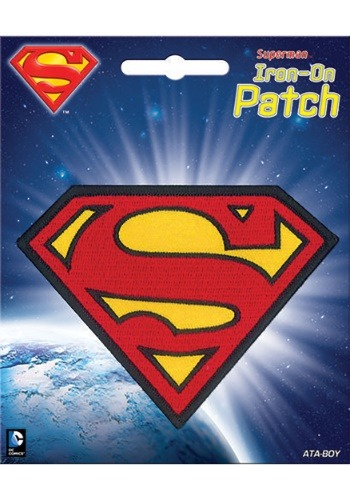 DC Comics Superman Iron-On Patch