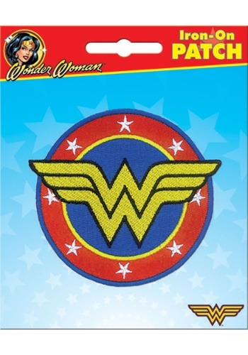 DC Comics Wonder Woman Iron-On Patch