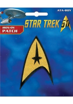 Iron-On Star Trek The Original Series Badge Patch