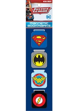 DC Comics Justice League Magnetic Bookmarks
