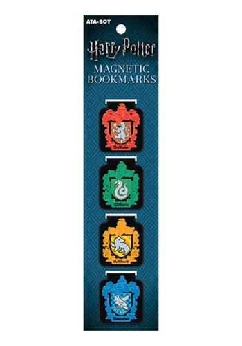 Harry Potter Hogwarts Houses Magnetic Bookmarks