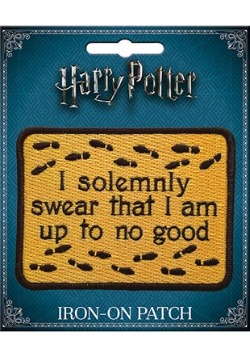 I Solemnly Swear Harry Potter Iron-On Patch