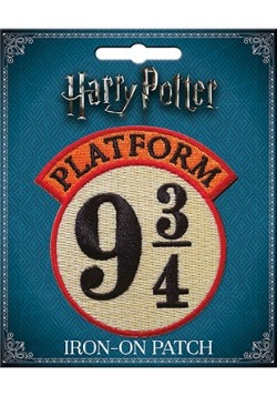 Iron-On Harry Potter Platform 9 3/4 Patch