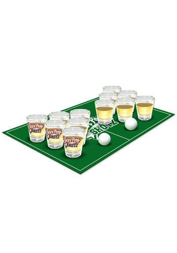 Beer Pong Shots Party Set